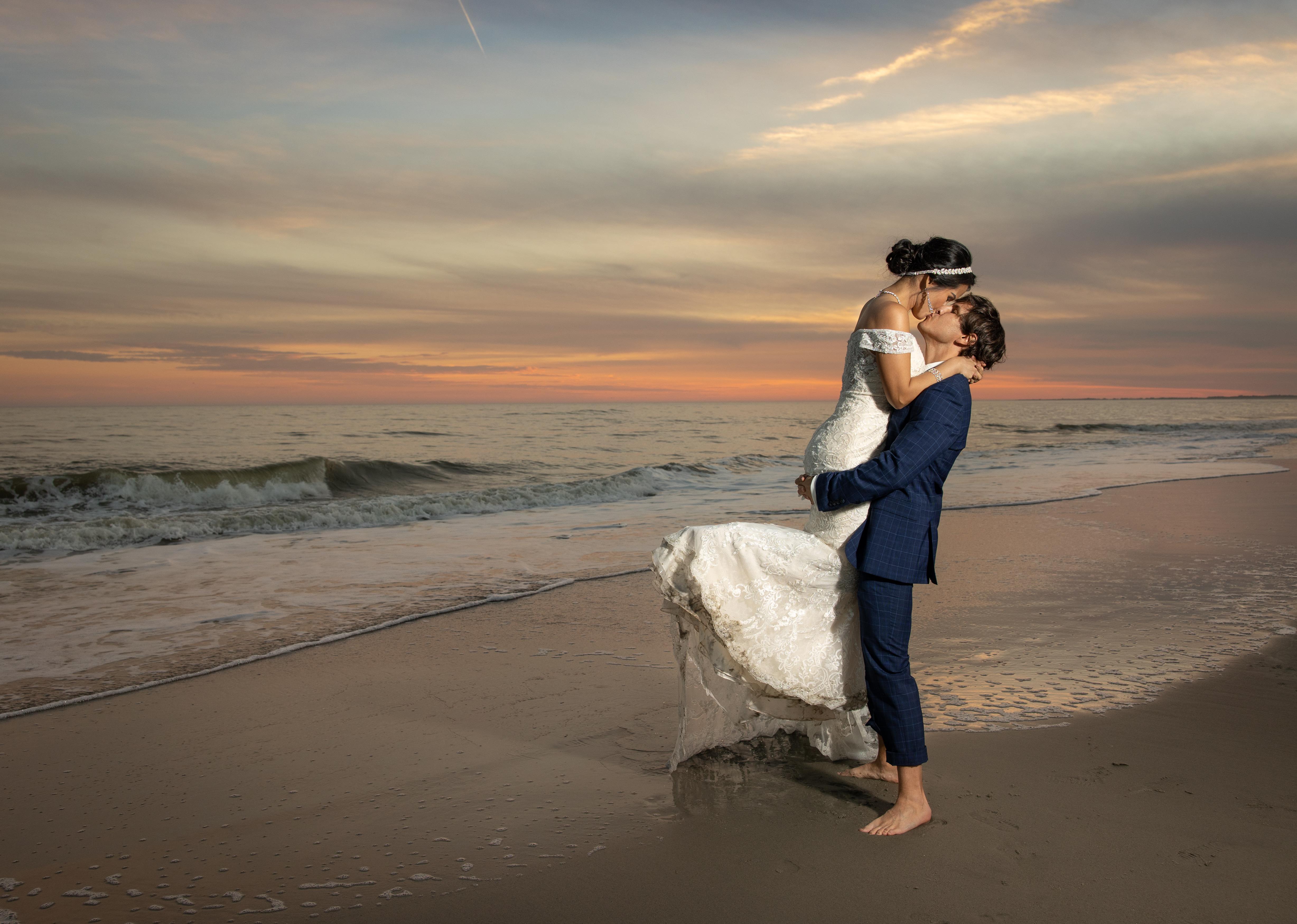 Charleston Beach Wedding