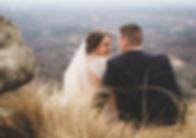 cliffs at glassy chapel elopement