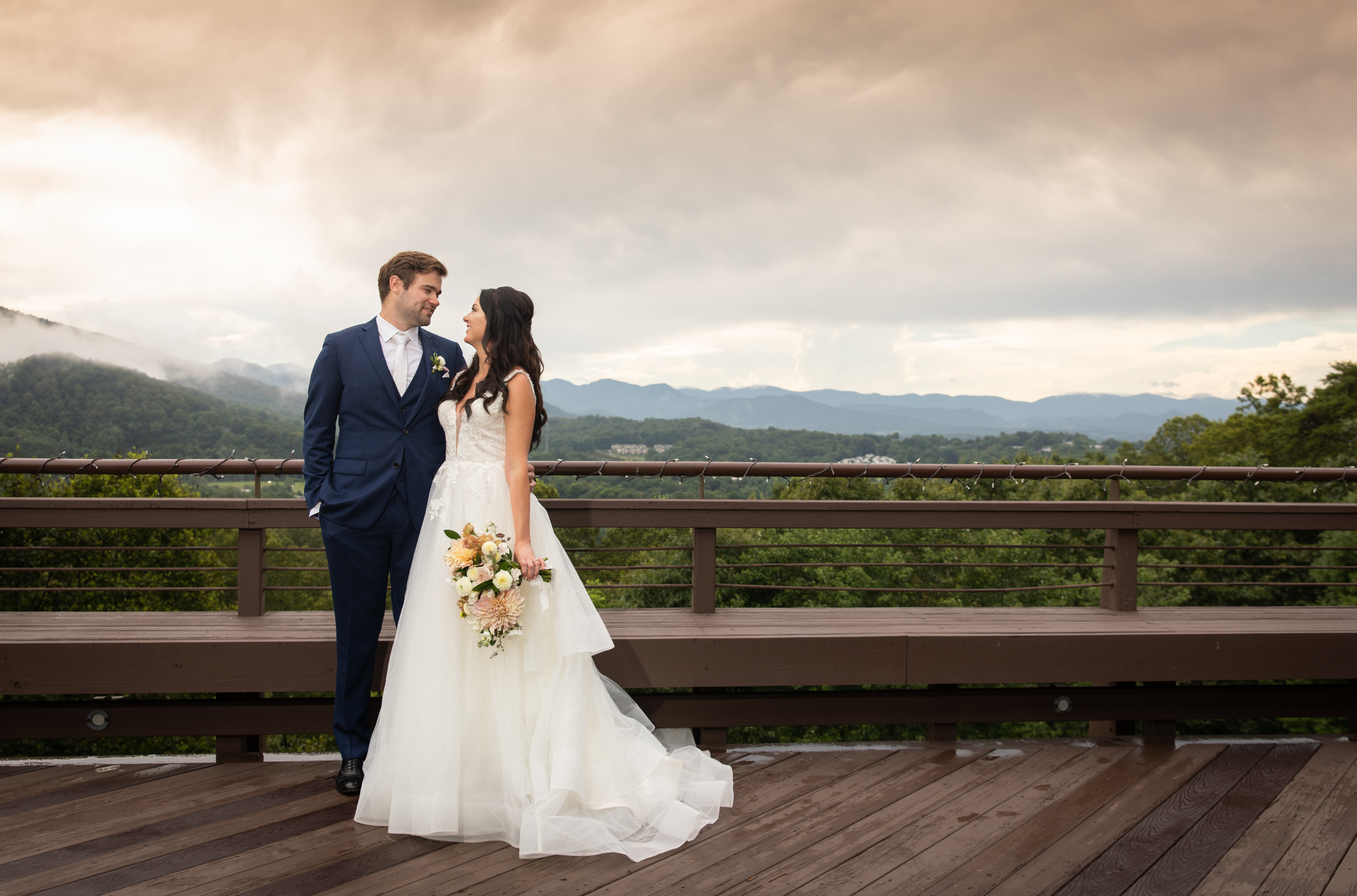 crest center weddings asheville