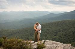 Romantic Engagement Rough Ridge