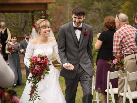 Fields of Blackberry Cove Wedding:  Lori + Nathan