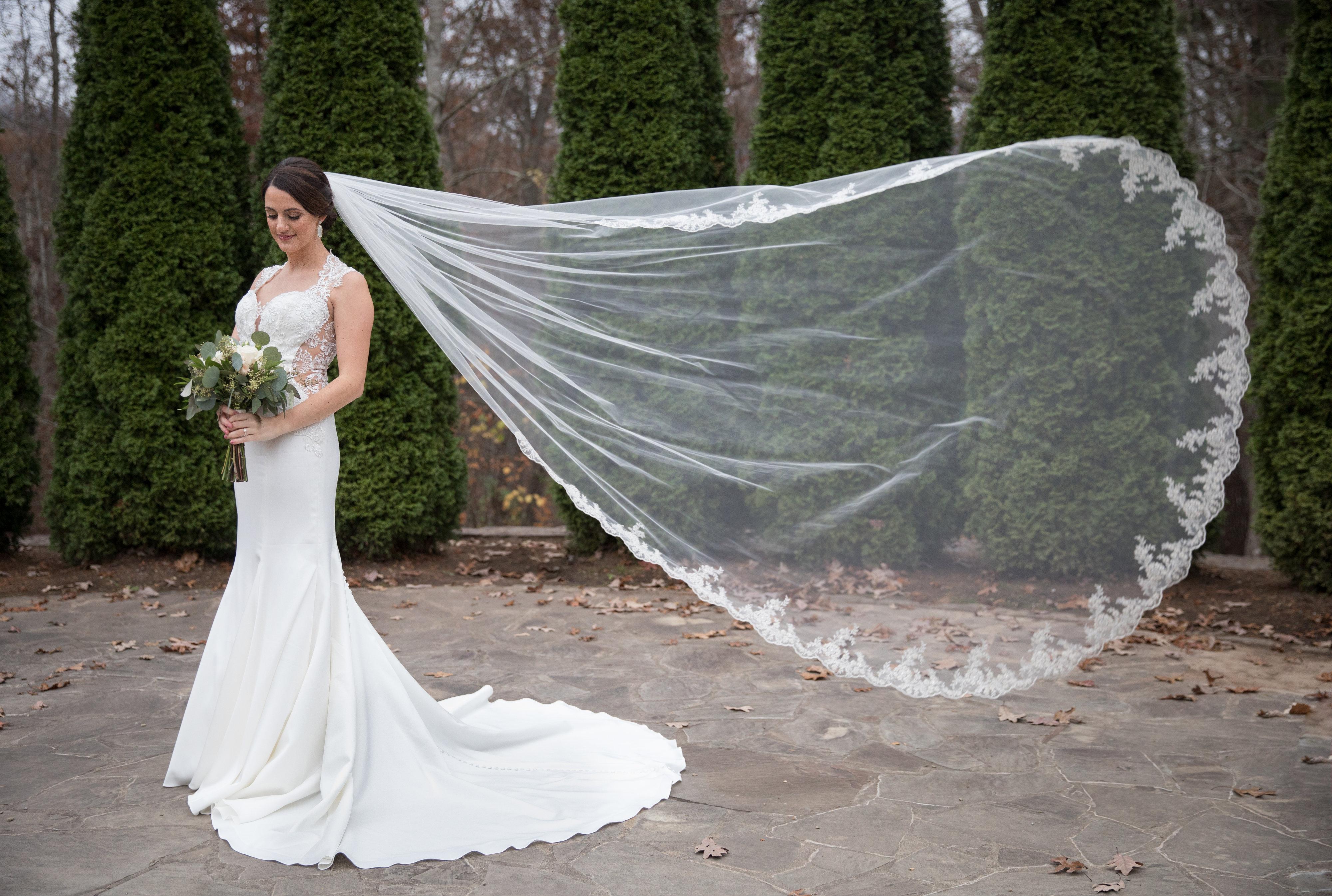 nc arboretum winter wedding