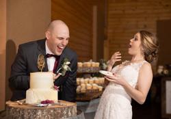 Caitlyn Farms Wedding Reception