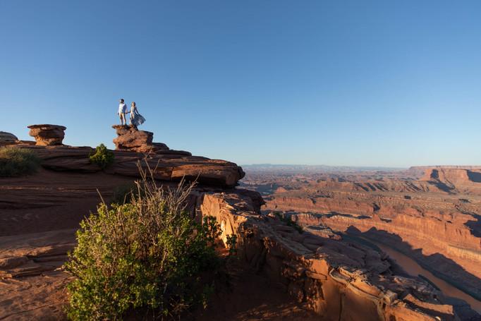 Adventure Engagement Session Moab
