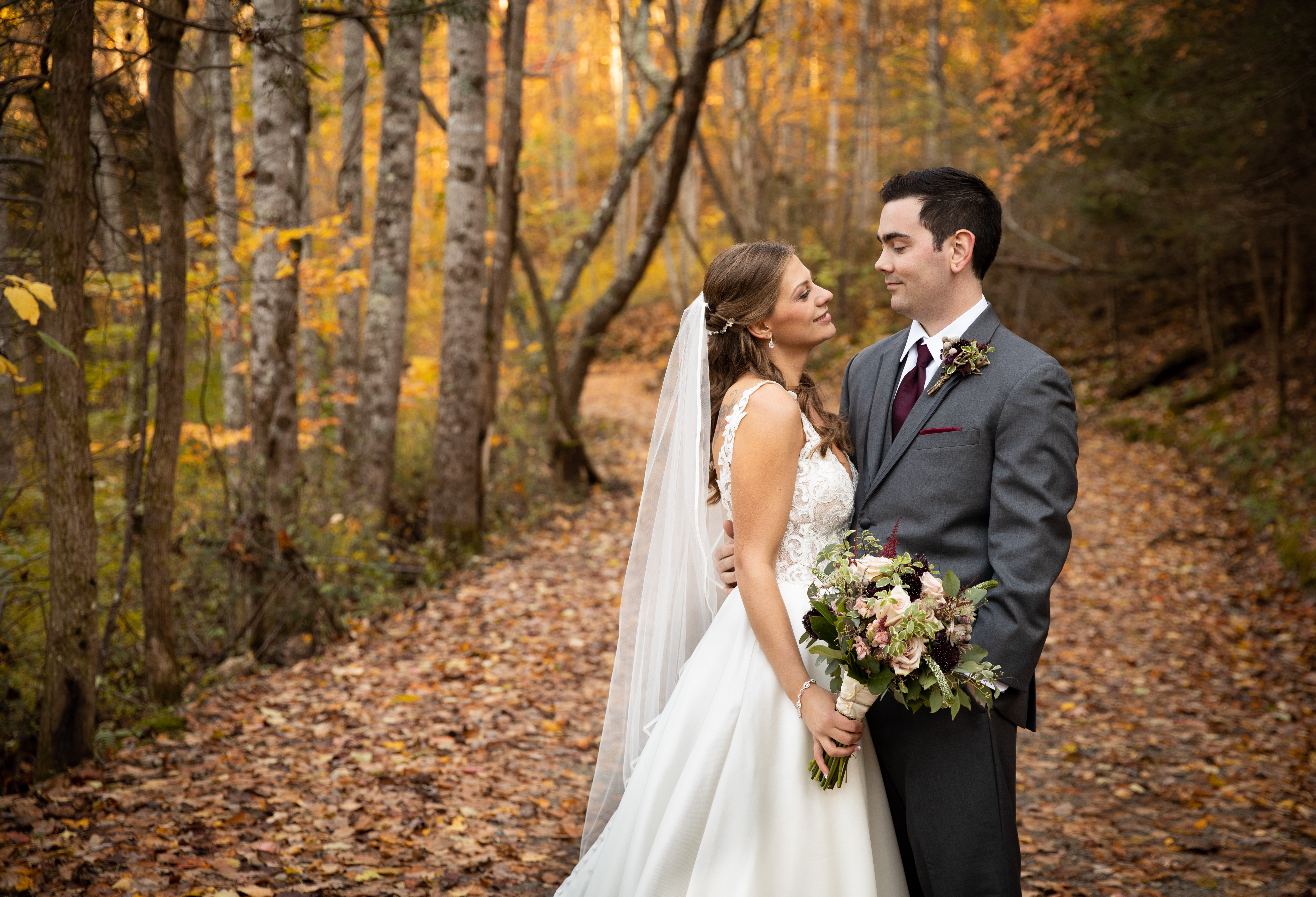 Fall Wedding Asheville