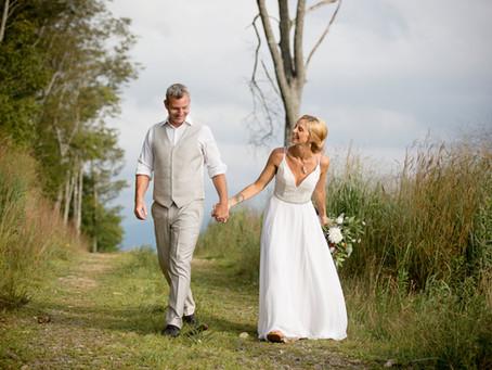 Intimate North Carolina Mountain Wedding:  Kristen + Jesse