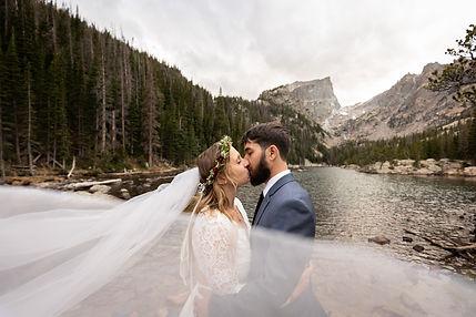 Wedding Photograph taken in Grand Teton National Park