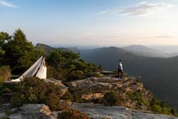 Asheville mountain elopement