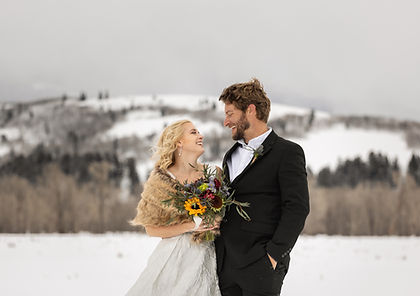 Photo of an Elopement in Jackson Hole
