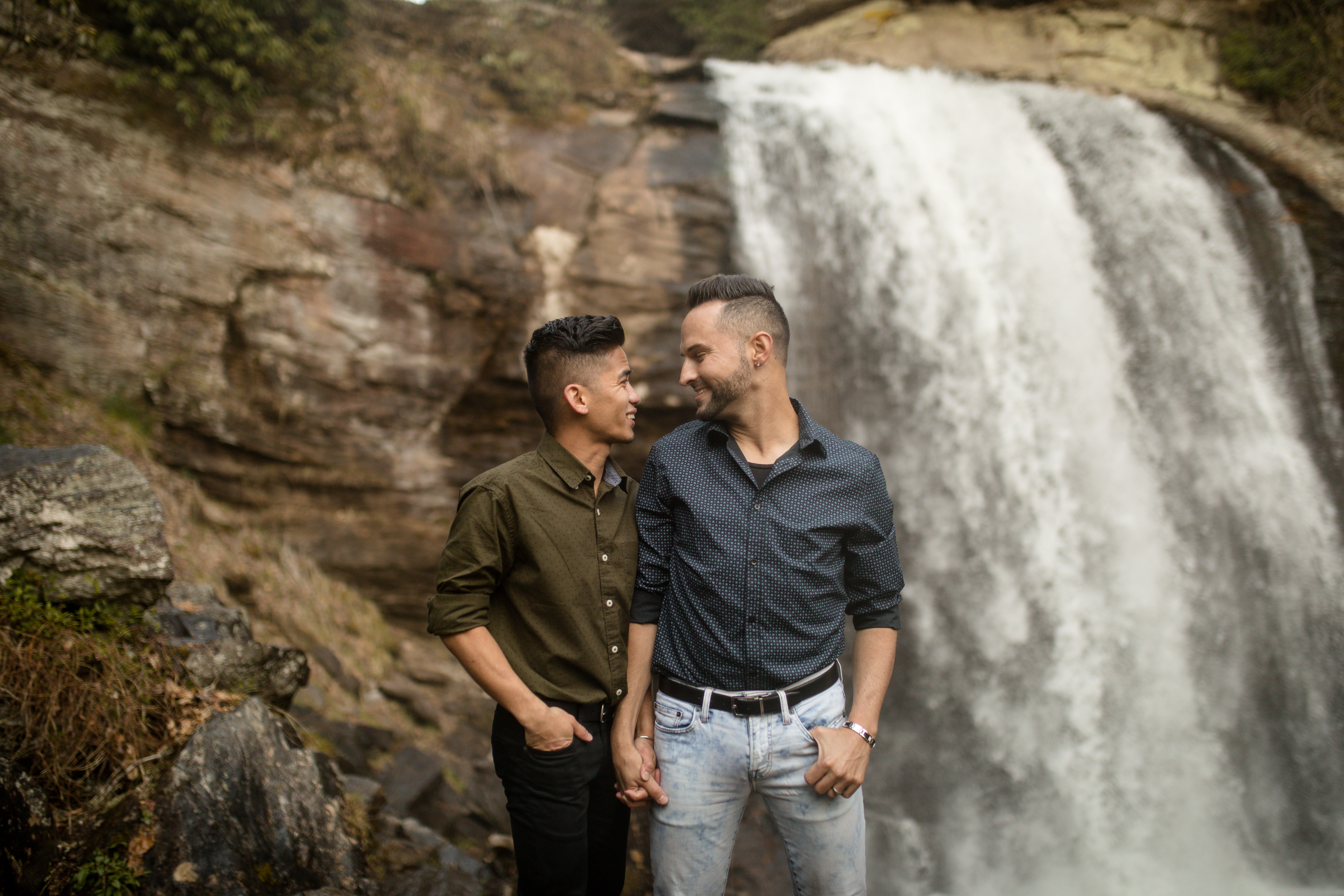 Looking Glass Falls Engagement