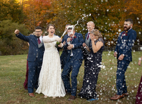 Fall Wedding at The Fields of Blackberry Cove