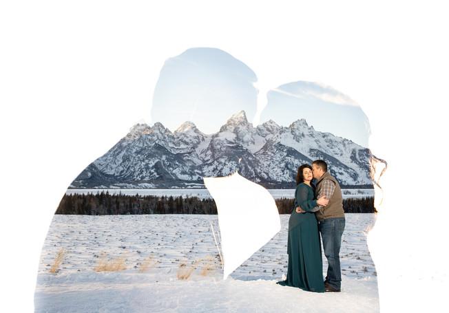 Engagement session Grand Tetons