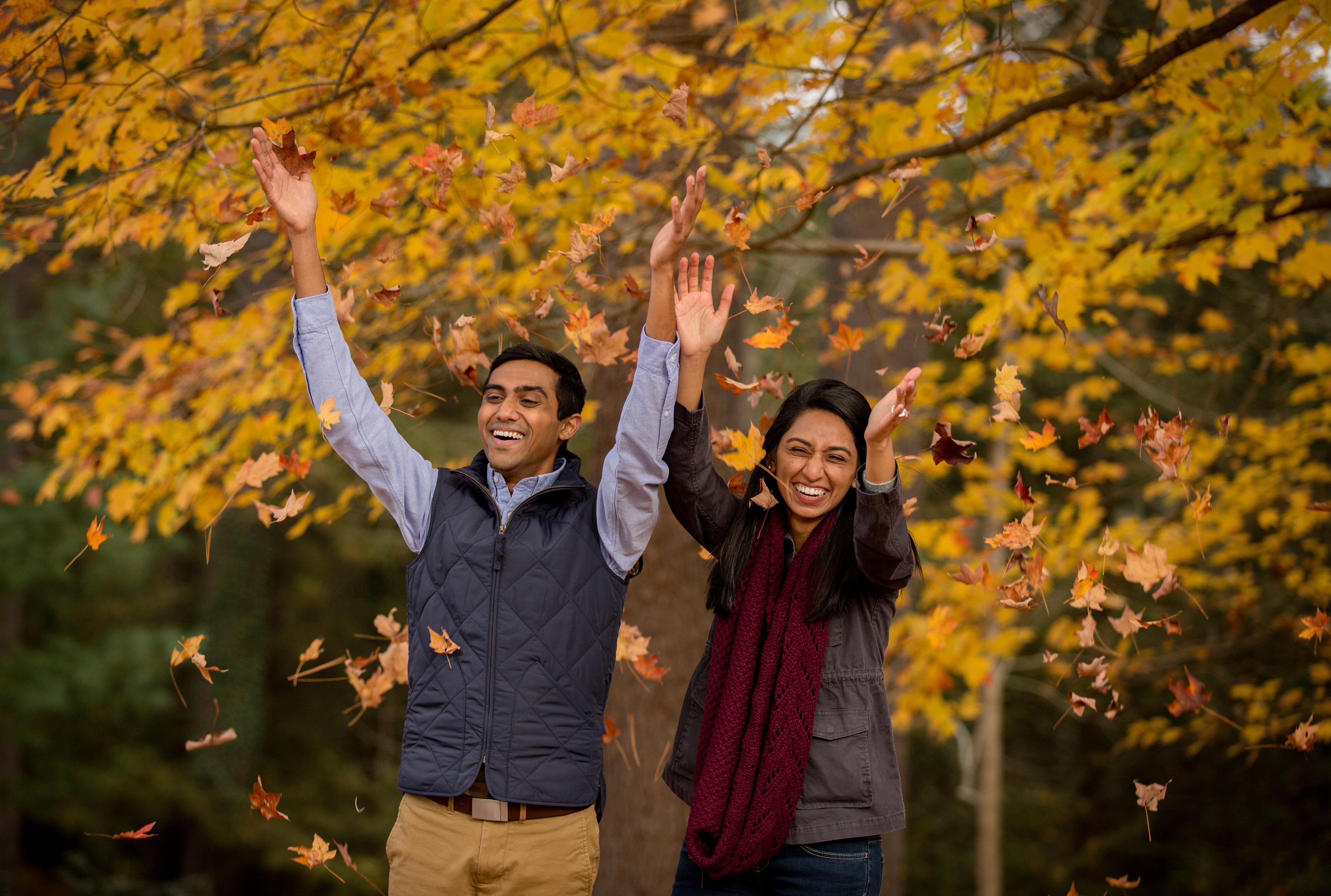 fall photos at biltmore