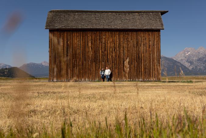 Jackson Hole Engagement photos