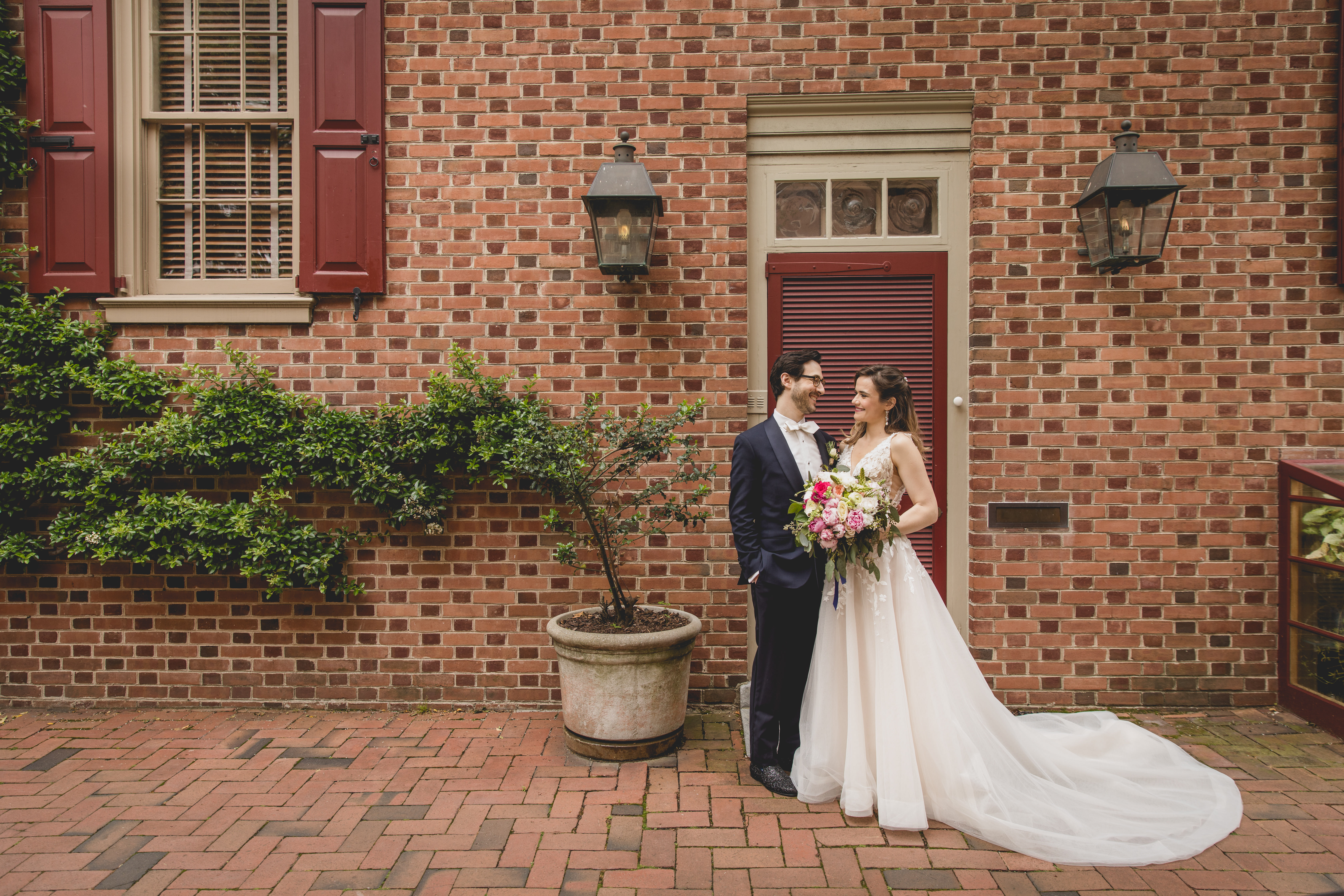 Historic district wedding photos Philadelphia