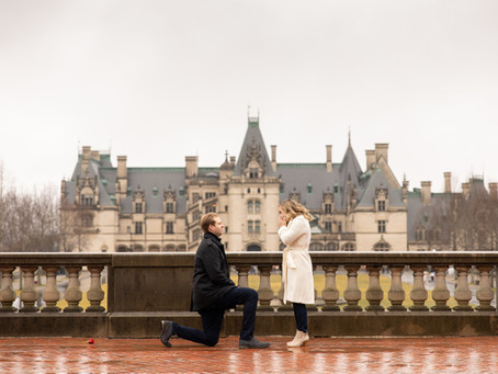 Surprise Biltmore Estate Proposal : J + S