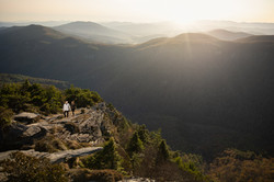 Hawksbill mountain engagement photos