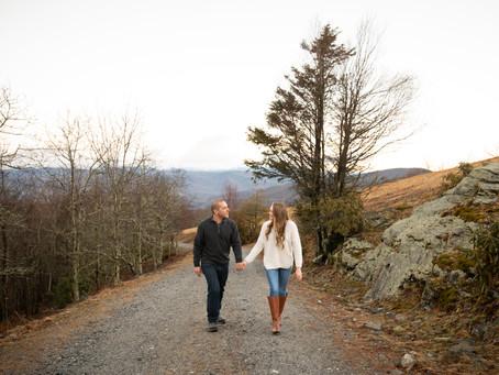 Bearwallow Mountain Engagement:  A + C