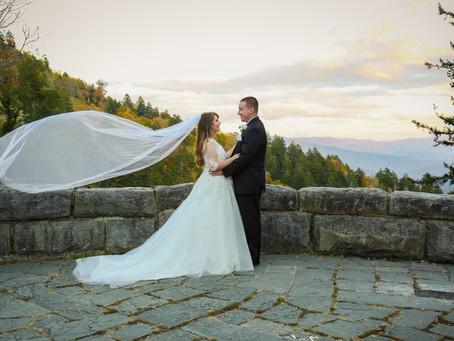Jessie & Robert's Intimate Mountain Destination Wedding