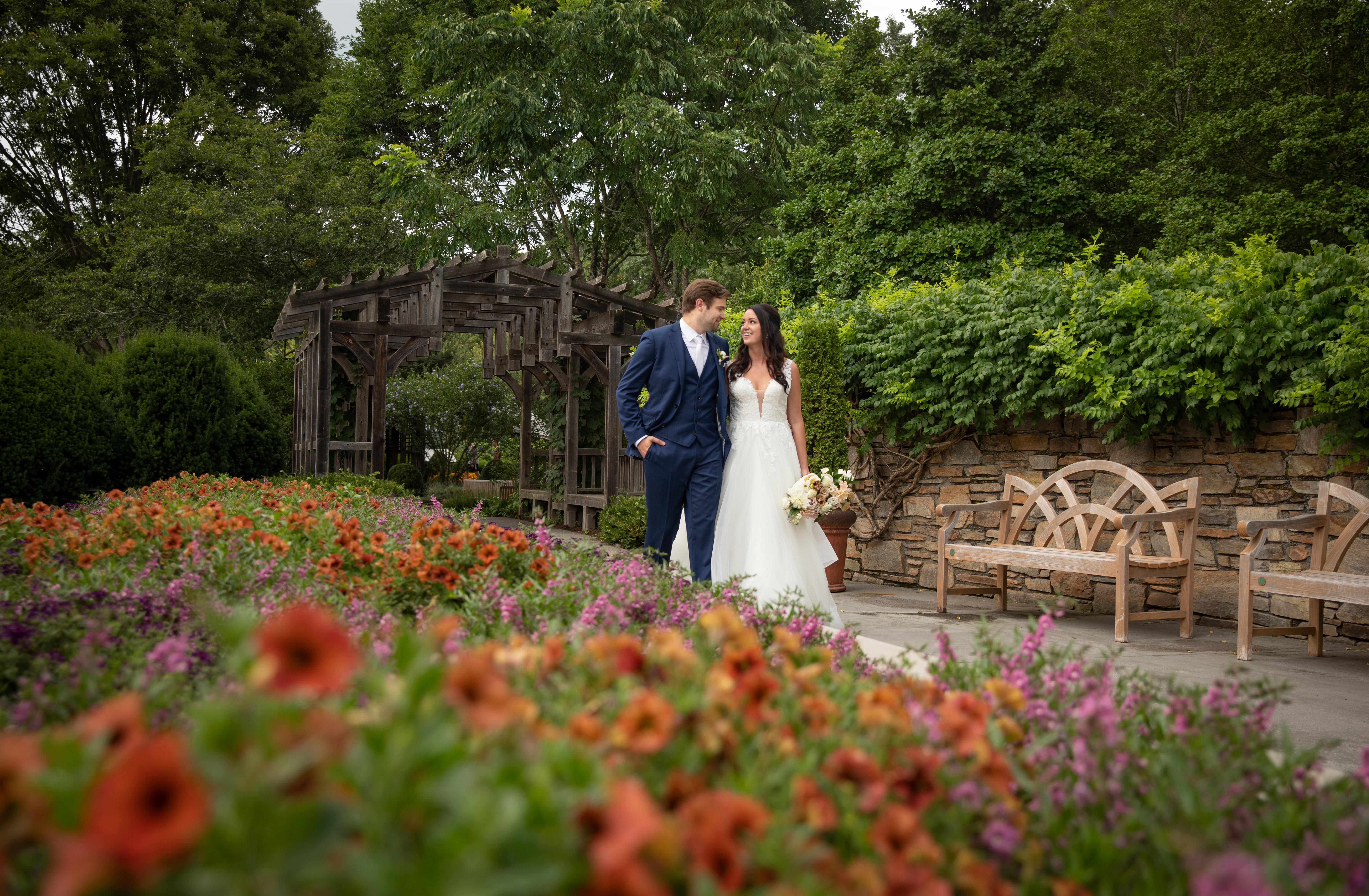 NC arboretum wedding asheville