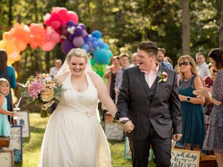 JuneBug Asheville Wedding:  C + M
