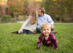 NC arboretum family photography