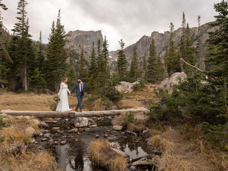 Dream Lake Elopement Colorado