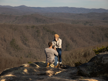 Adventure Proposal near Asheville : J + M