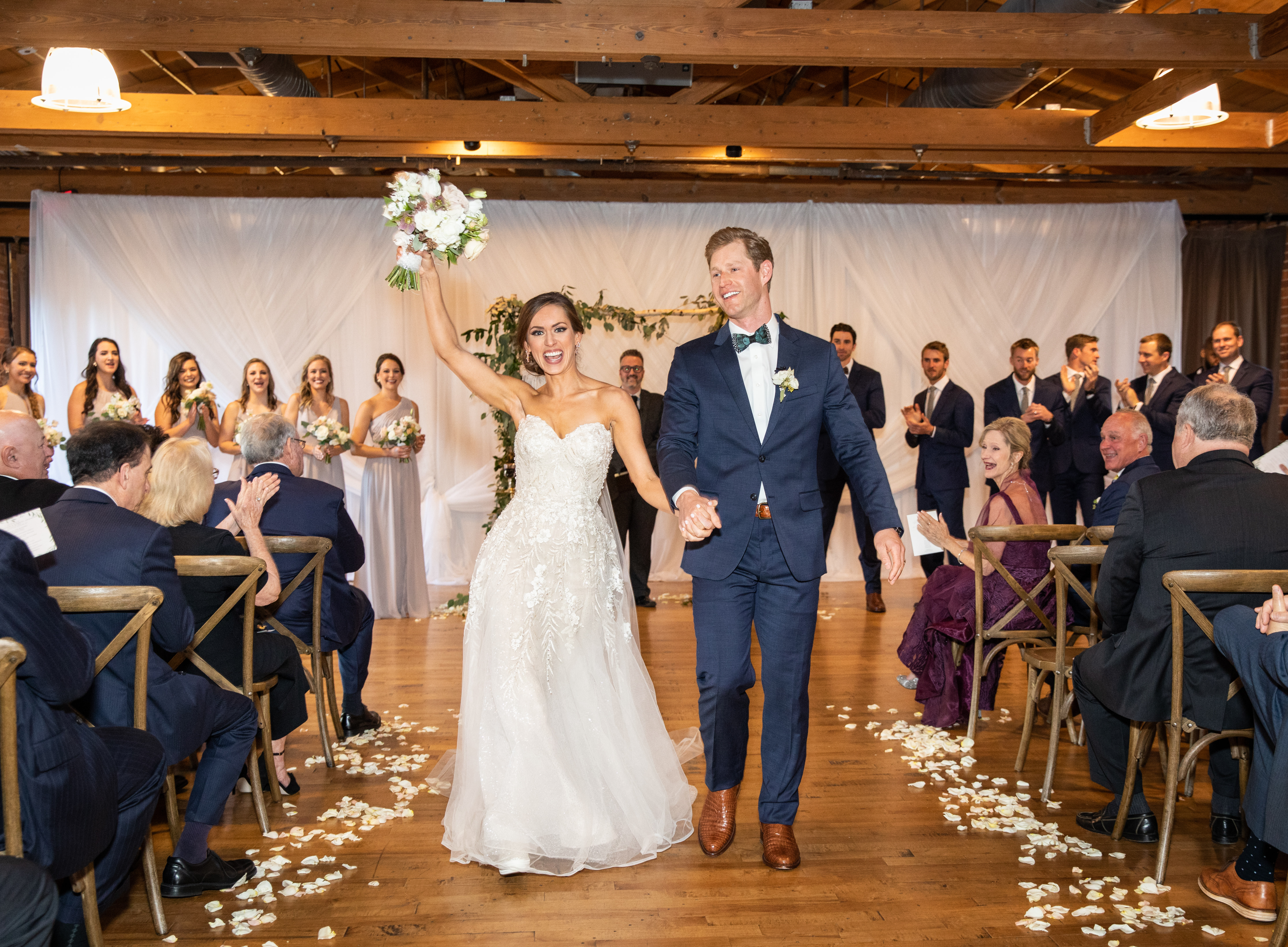 Huguenot Loft Wedding Ceremony