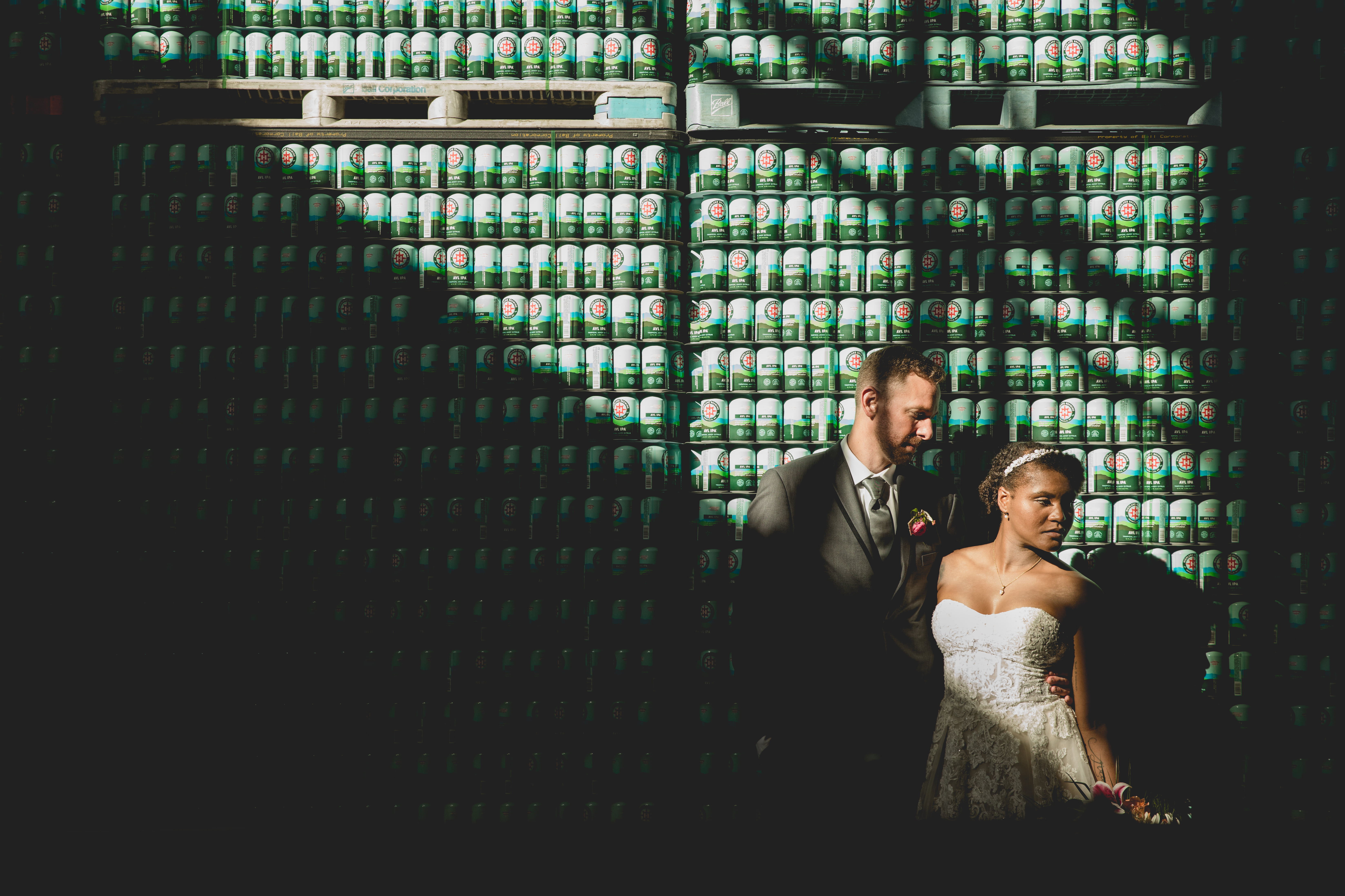 Highland Brewing Co. Wedding