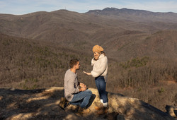 Mountain proposal near Asheville