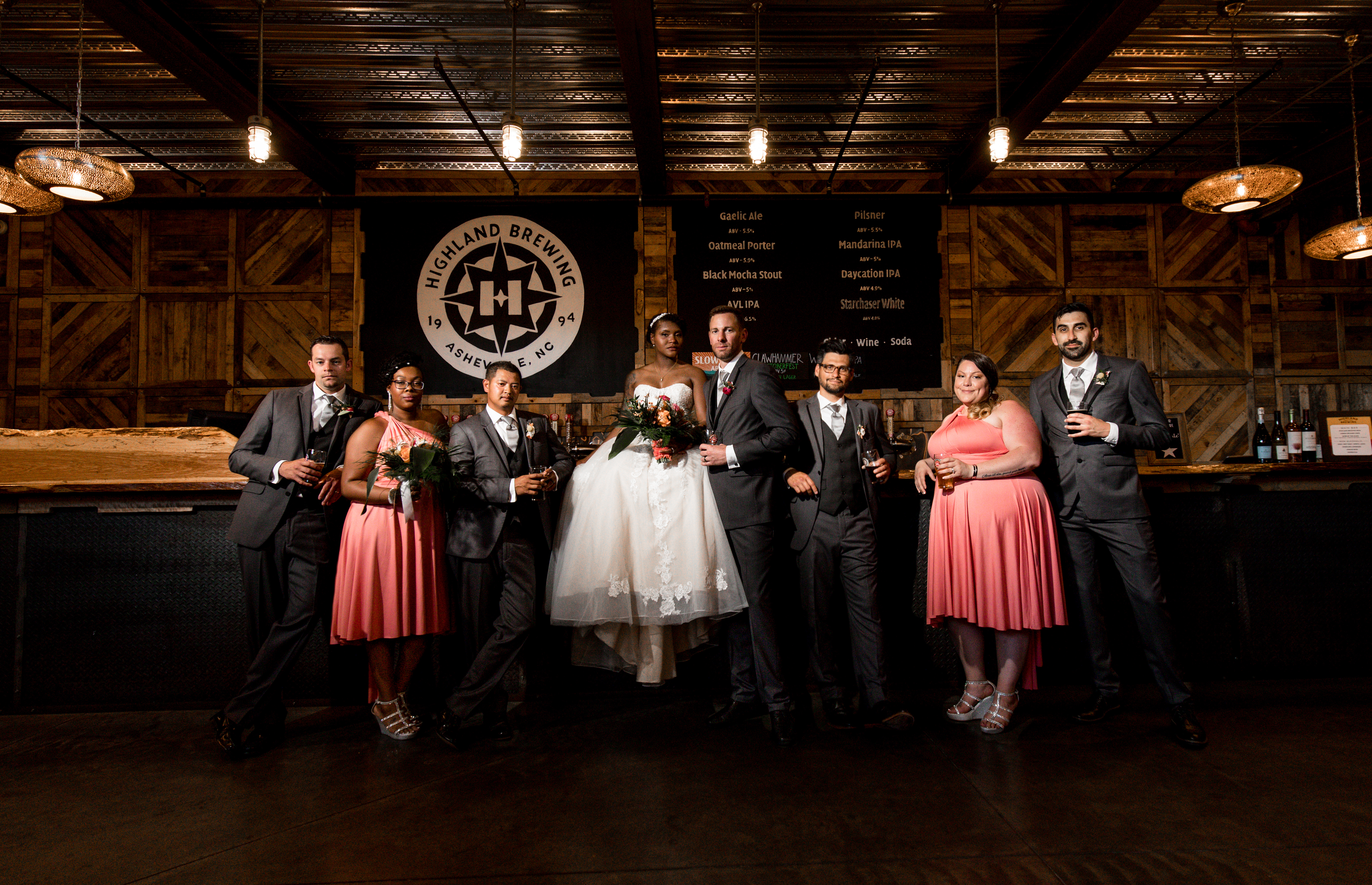 Highland Brewing Wedding