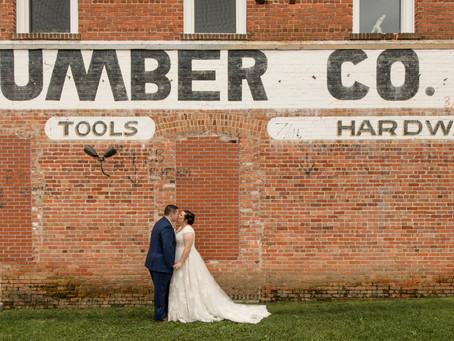 Brevard Lumberyard Wedding:  Alexa + Dylan