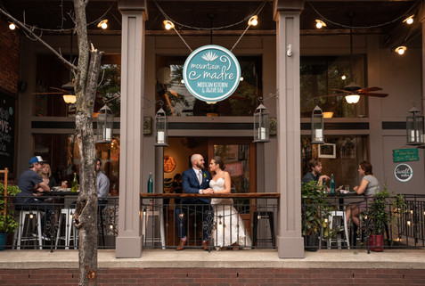 Wedding downtown Asheville