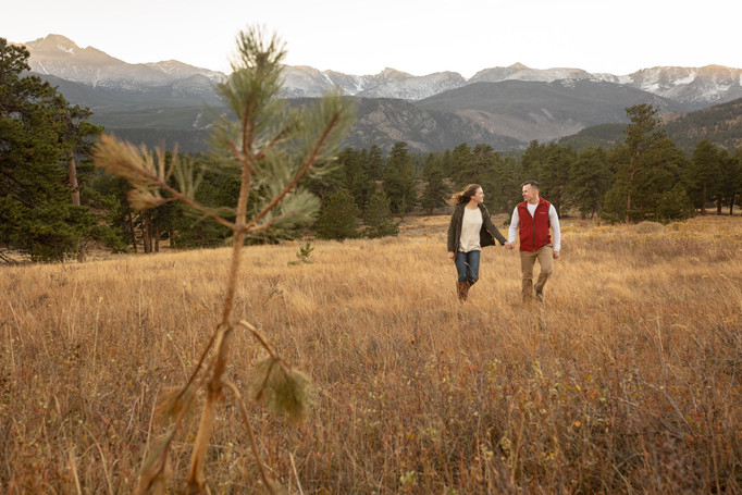 Rocky Mountain Engagement Session