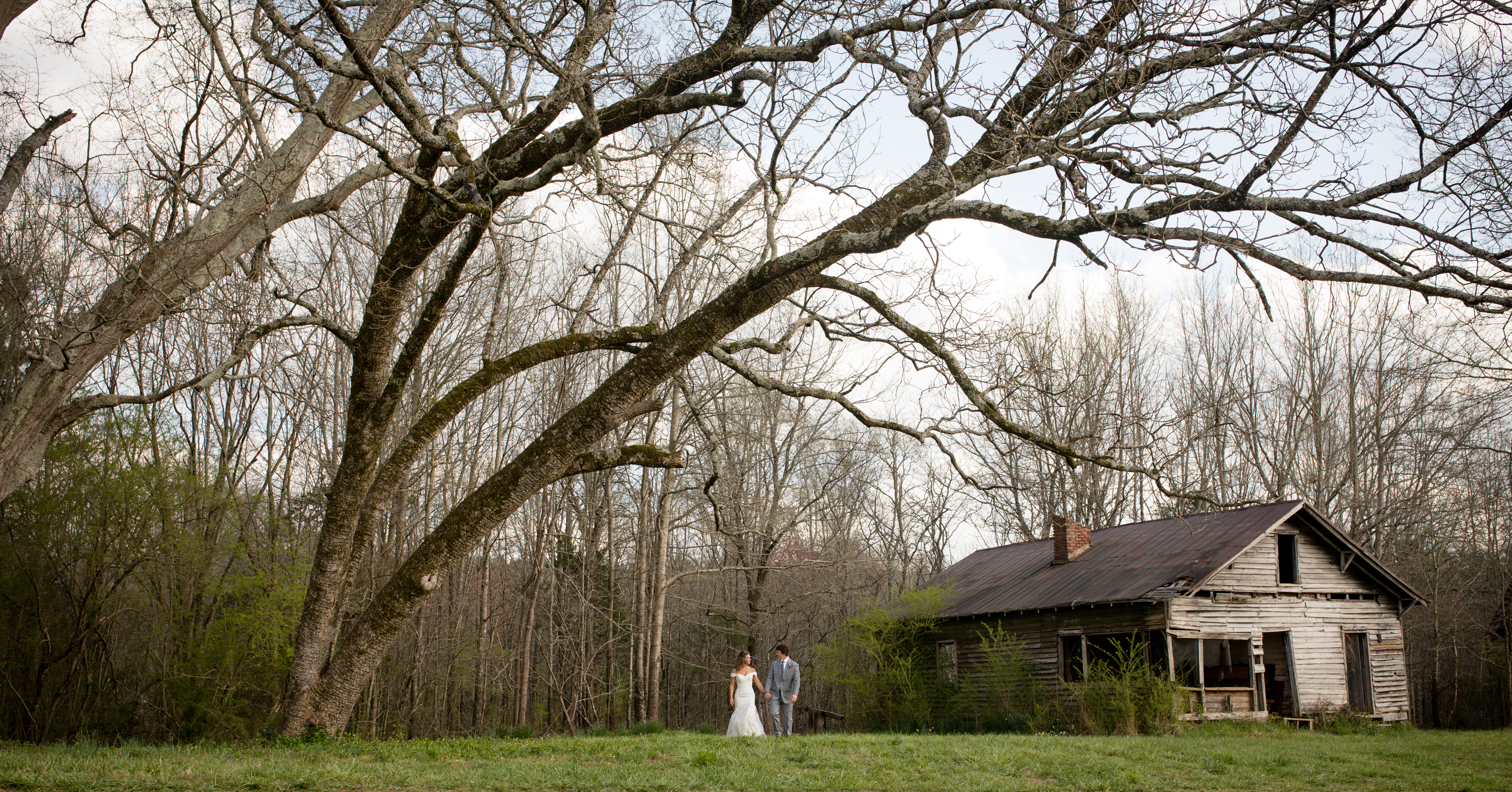 Rustic NC wedding