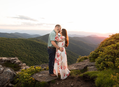 Craggy Gardens Engagement : T + D