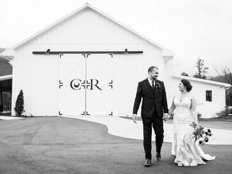Ashley & Caleb's Wedding:  Chestnut Ridge