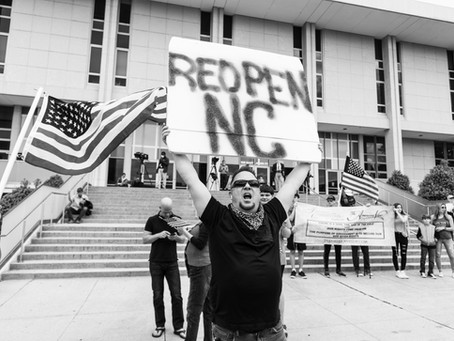 Reopen NC protest in Raleigh, NC - Documenting History
