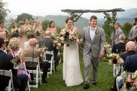 The Cabin Ridge Wedding