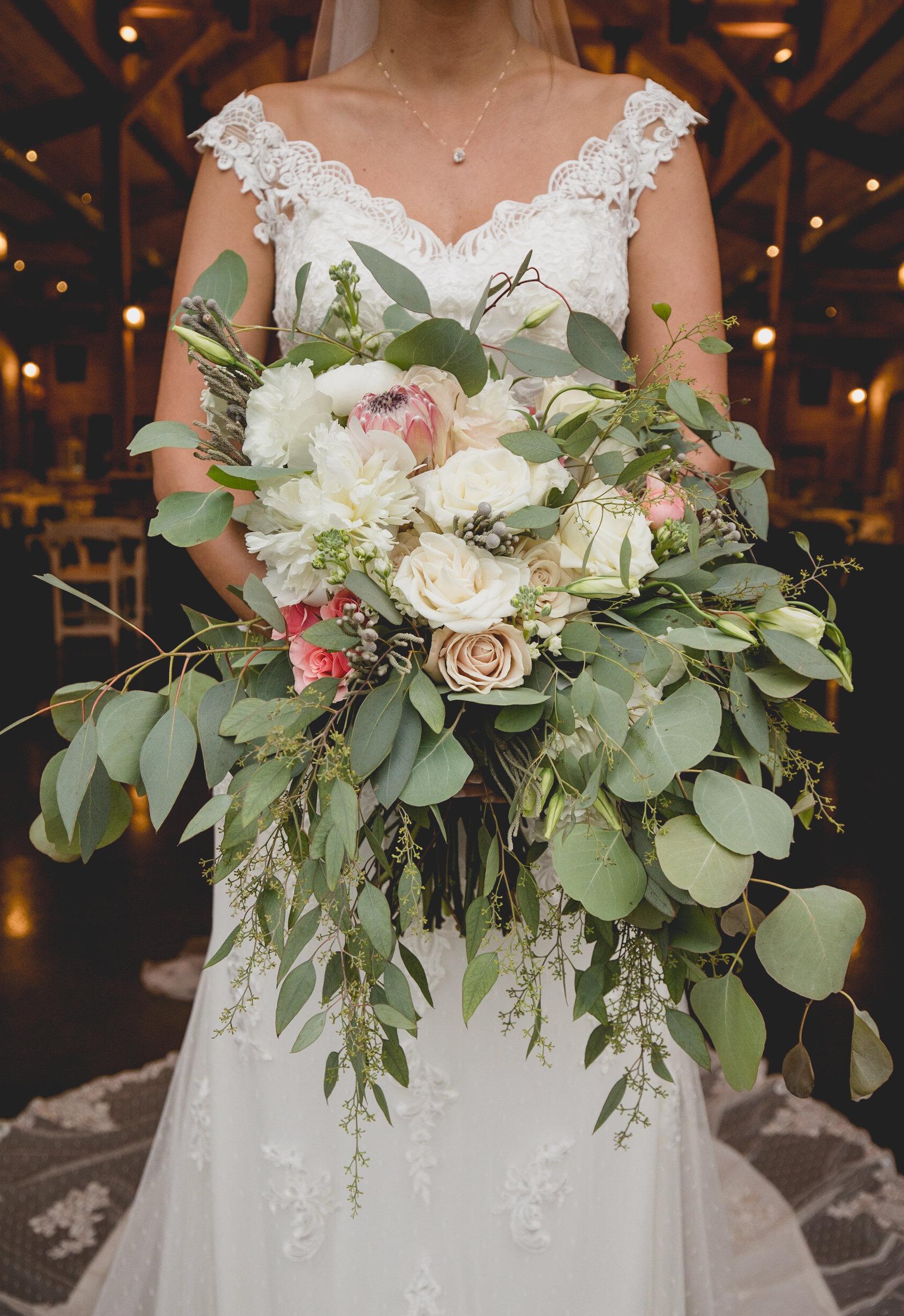 bridal session at windy hill barn
