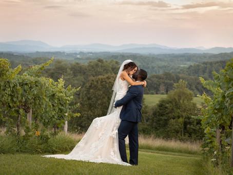 Longleaf Vineyard Wedding :  R + L
