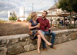 asheville engagement photo ideas
