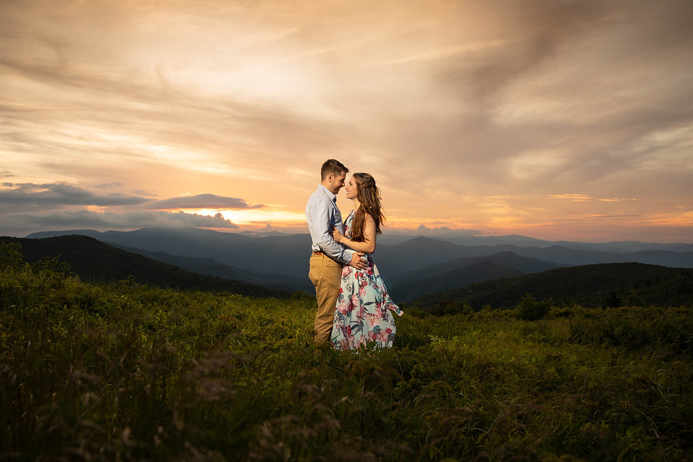 Black Balsam Knob Engagement Session