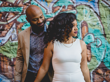 Asheville Engagement: Violet + Donald
