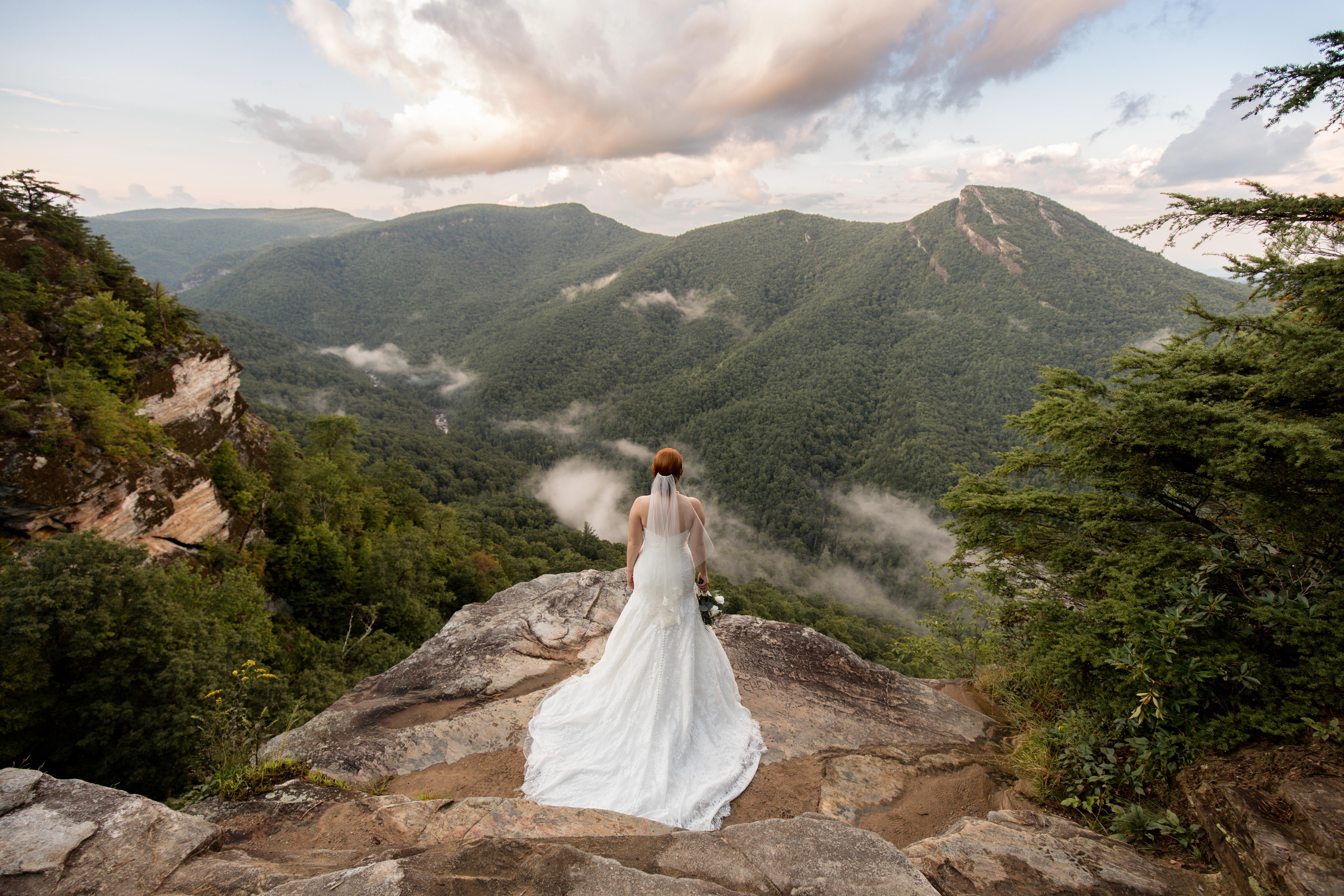 linville gorge adventure wedding