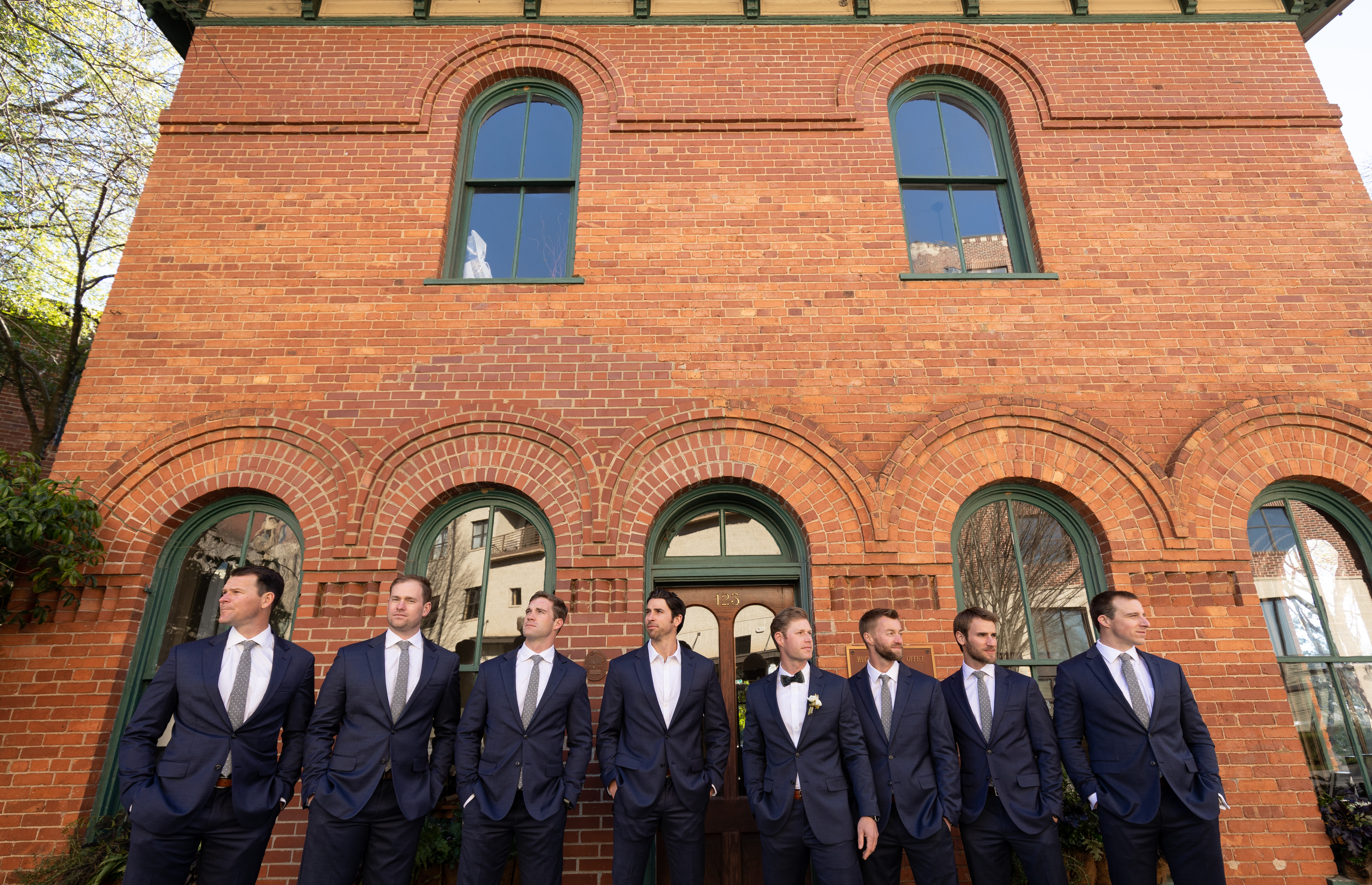 Huguenot Mill Wedding Greenville