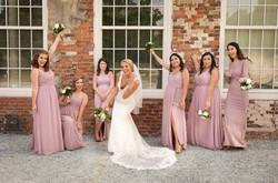 Cloth mill at eno river wedding
