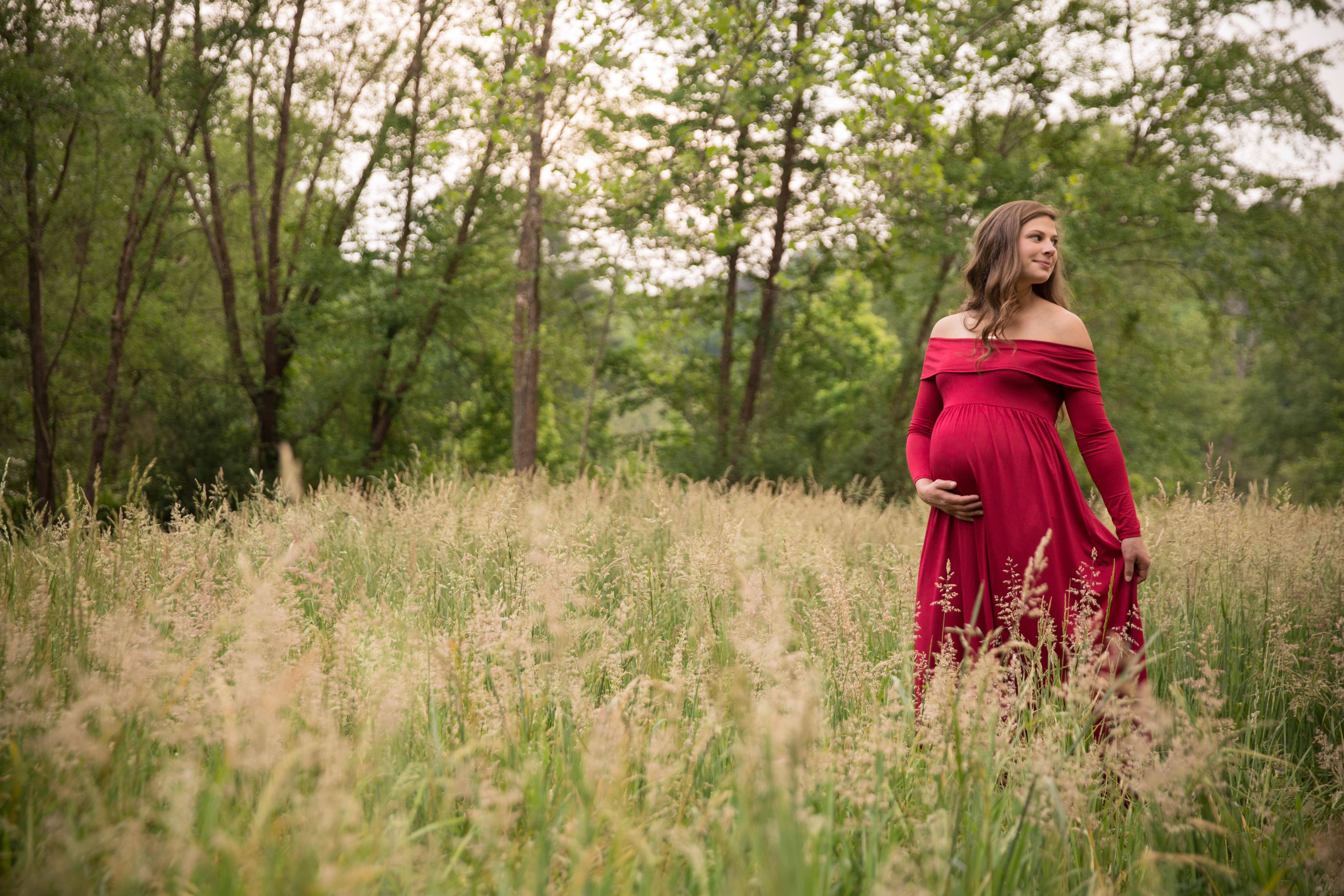 asheville maternity photos