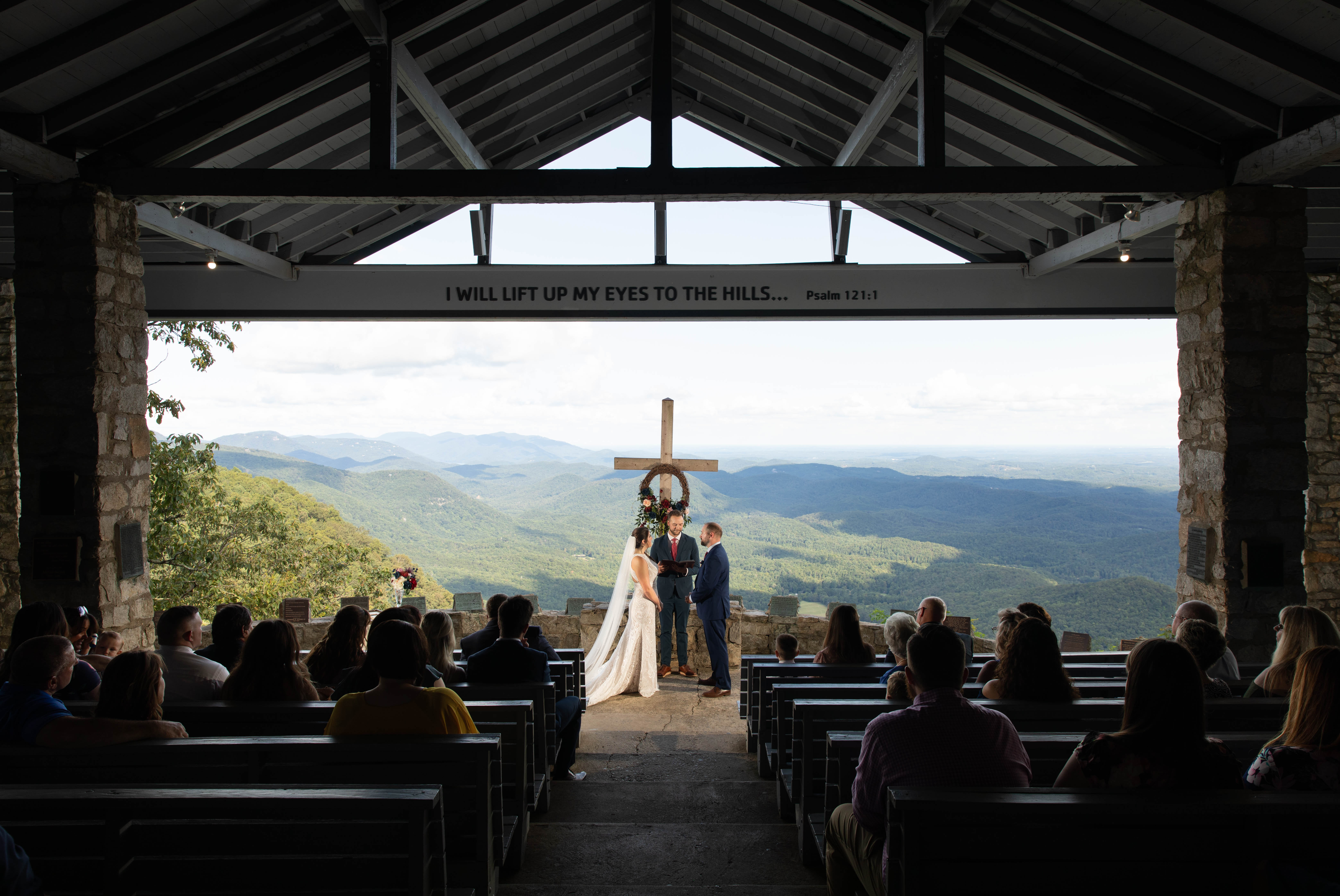Pretty Place Chapel Wedding